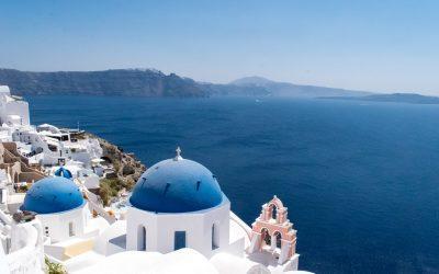 Postcard from….leaving Santorini
