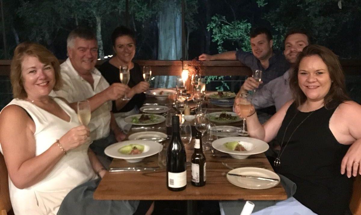 Ian & Paula Ferris & family