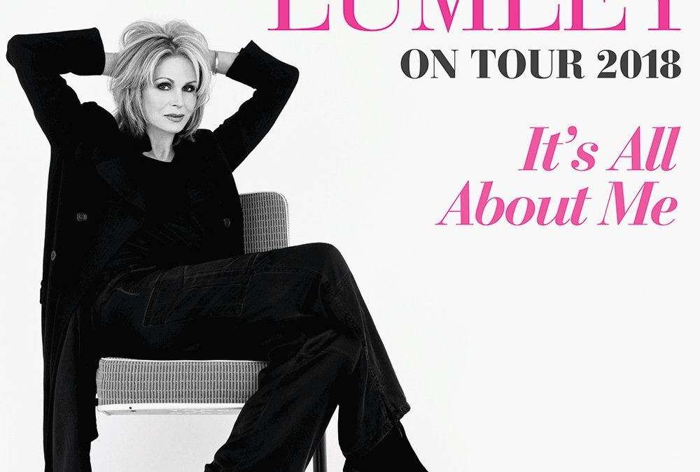 Joanna Lumley on stage  ⭐️⭐️★★★