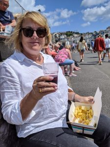 Fish & chips at Brixham