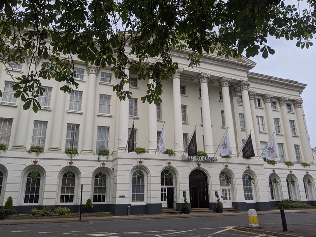 Postcard from…. The Queens Hotel, Cheltenham