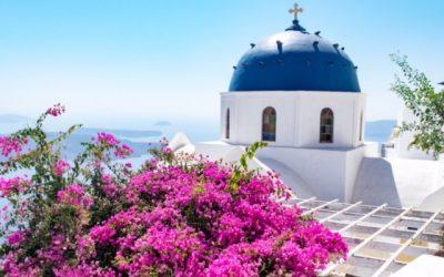 Postcard from…. Santorini