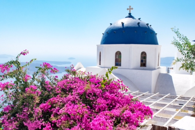 Postcard from…. Santorini